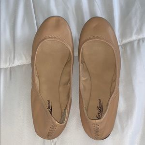 Lucky Brand Taupe Emmie Ballet Flats Size 8.5